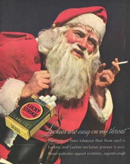 Santa Sells Cigarettes